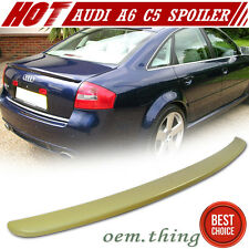 """IN STOCK USA"" Unpainted AUDI A6 C5 S6 RS6 Sedan OE Trunk Spoiler 1998-2004"