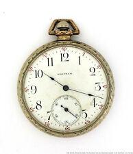 Waltham 15j Open Face Pocket Watch