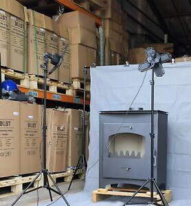 NEW Big and Powerfull Multifuel Stove log burner wood burner 14kW