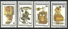 Bophuthatswana - Geschichte des Telefons (I) Satz 1981 postfrisch Mi. 76-79