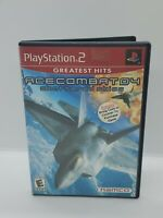 PS2 Ace Combat 04: Shattered Skies (Sony PlayStation 2 2001) Complete!