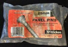 Steel Panel Pins 1.6mm x25mm  Qty Over 200 Nails, Tacks.Brand new.