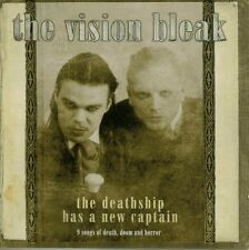 """The Vision Bleak """"The Deathship Has A New Captain"""" 2004 Goth Rock cd"""