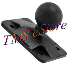 "1"" Rubber Ball AMPS 4 Hole Adaptor Plate RAM Mounts to Arkon Brackets APAMPS25MM"