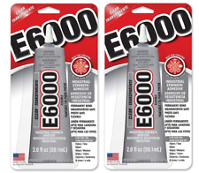 2-PK E6000 Industrial Strength Craft Clear Glue Adhesive Permanent SAME-DAY SHIP