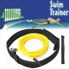 Swim Bungee Training Belt Swimming Resistance Safe Leash Exerciser Tether Tools