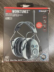3M WorkTunes Connect + AM/FM Hearing Protector w/ Bluetooth PRO