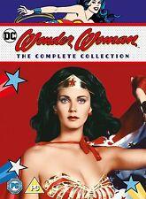 WONDER WOMAN Complete Season Series 1 2 & 3 1-3 Collection Boxset NEW DVD R4