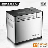 Baulia Automatic 2 LB Bread Maker Machine, 17 Bread Baking Functions, 710-Watt