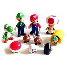 "Nintendo Video Games SUPER MARIO toy action 5"" figure & smaller job lot"
