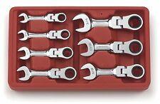 GearWrench 9570 Sae Stubby Flex комбинированный трещоточный гаечный ключ-упаковка из 7