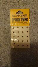 lureflash Epoxy eyes orange small