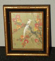 Vintage Asian POSTER.Stylish Graphic.Oriental Birds.Interior Room art Decor.662