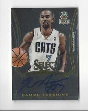 2013-14 Select Signatures #38 Ramon Sessions AUTOGRAPH Bobcats Bucks