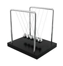 "Large 7"" Harvey Makin Collection Newton's Cradle Executive Balance Balls Physics"