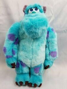 "Monsters Inc. Sulley Plush 18"" Disney Pixar Sully Disney Store Authentic EUC"