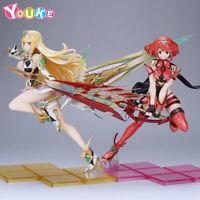 Xenoblade Chronicles 2 Mythra Hikari & Pyra Homura sword 1/7 PVC Figure In box