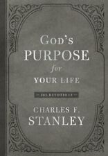 God's Purpose for Your Life: 365 Devotions by Charles F Stanley: New