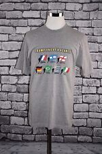 Mens Vintage 2002 FIFA World Cup Champions Soccer at a Glance T-Shirt Rare