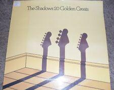 LP recordThe Shadows 20 golden greats vgc ,EMI records