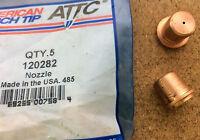 Nozzle 50A Plasma Cutting American Torch Tip 120282 PMAX1100 Multi Qty