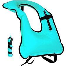 Lesberg Snorkel Vests Vest Inflatable Life Jackets Adult Free Diving Swimming