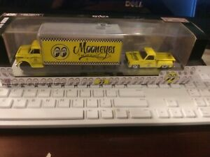 M2 Machines Yellow Moon and Square body and 1976 Chevy Pu