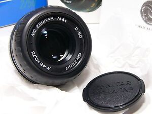 Zenitar-M2s MC 2/50mm For all Cameras with M42 Mount Brand new