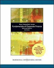 Fundamentals of Corporate Finance Alternate Edition by Jordan, Bradford D.