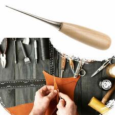 Nähahle Lederahle Ahlen Stechahle 12 cm für die Lederbearbeitung mit Holzgriff