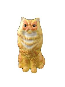 Yellow Ceramic Cat Piggy Bank