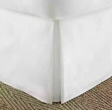 Home Collection Pleated Full Bed Skirt in White