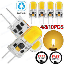 4/10x GY6.35 Dimmable COB LED Lamp Bulb AC DC 12V Cabinet Light Droplight Lamps