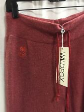 Wildfox Couture Red Essentials Sweats Sweat Pants Bottoms Size Small S NWT B7