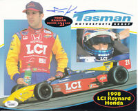 Tony Kanaan autographed signed auto 1998 Tasman Motorsports 8x10 photo card JSA