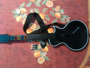 Guitar Hero Les Paul Gibson Controller PS3 Complete, Tested, Sanitized