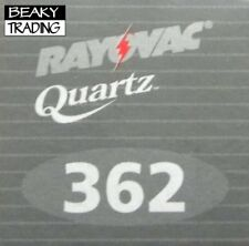 Genuine Rayovac 362 SR721SW Watch Battery [1-Pack]