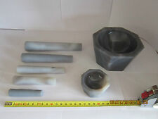 70 mm, Achatpistill, Pistill, Pestle, Pilon, Agate, Agata, Pestelle