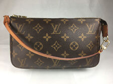 LOUIS VUITTON POCHETTE ACCESSOIRES MONOGRAM CANVAS KOSMETIK CLUTCH TASCHE TOP