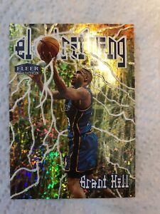 1998-99 Fleer Electrifying #4 Grant Hill