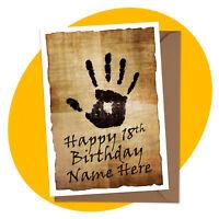 We Know PERSONALISED BIRTHDAY CARD - Skyrim Theme - elder scrolls personalized
