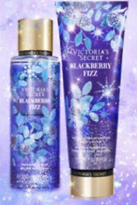 Victoria's Secret BLACKBERRY FIZZ Set Body Lotion & Body Mist Discontinued Scent