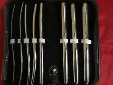 Hegar Dilator Urethral Sounds Surgical Instruments 8 PCs Set