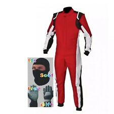 Go Kart Race Suit Cik Fia Level2 Approved With free Gloves & Balaclava