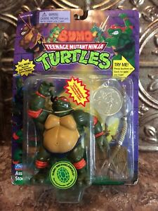 TMNT Ninja Turtles Sumo Michaelangelo1995 Playmates In Package