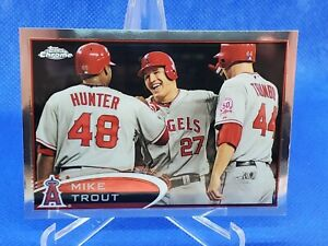 2012 Topps Chrome Mike Trout #144
