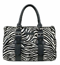 NEW~Kate Moss for Longchamp Zebra Pony Polonchon Gloste Leather Tote Bag~