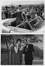Lot 2 photos originales Colette Castel Tout l'or du monde Cadillac Series 62