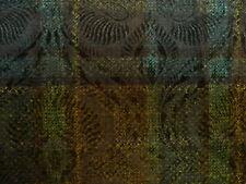 (20,85€/1m) Jersey, Flockprint, Kariert, Viskose