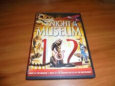 Night at the Museum/Battle of The Smithsonian (DVD 2014 2-Disc WS/FS) Used 1 & 2